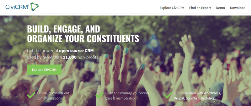 CiviCRM for non-profit organizations