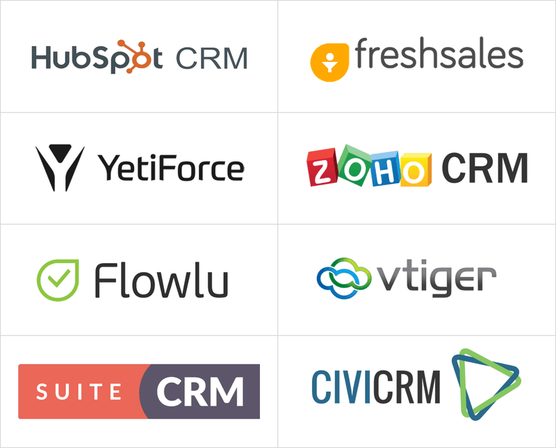 Free Salesforce alternatives list