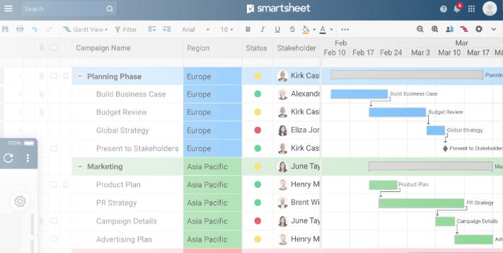 smartsheet monday software alternatives