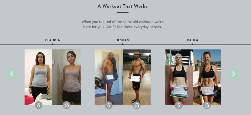 men and women workout pictures