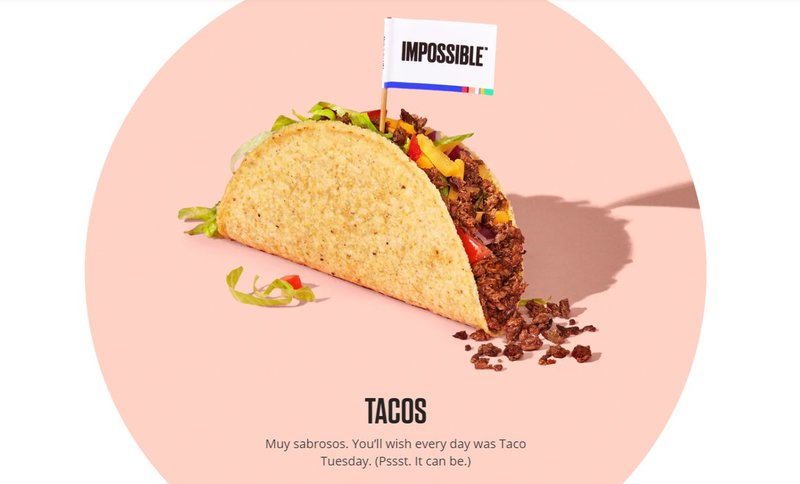 tacos food product description