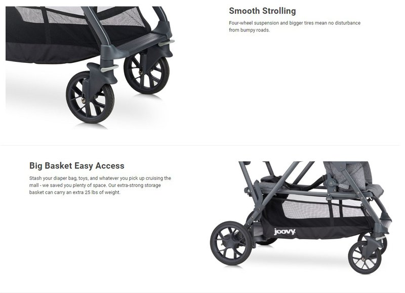 product description of Joovy strollers