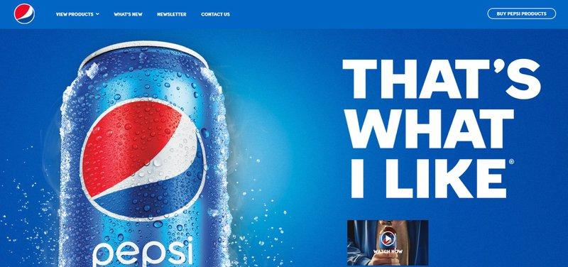 product description of Pepsi
