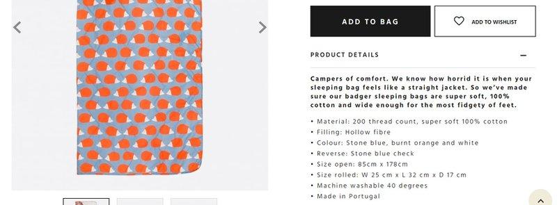 Alt = '' add details in Product Descriptions for Websites ''