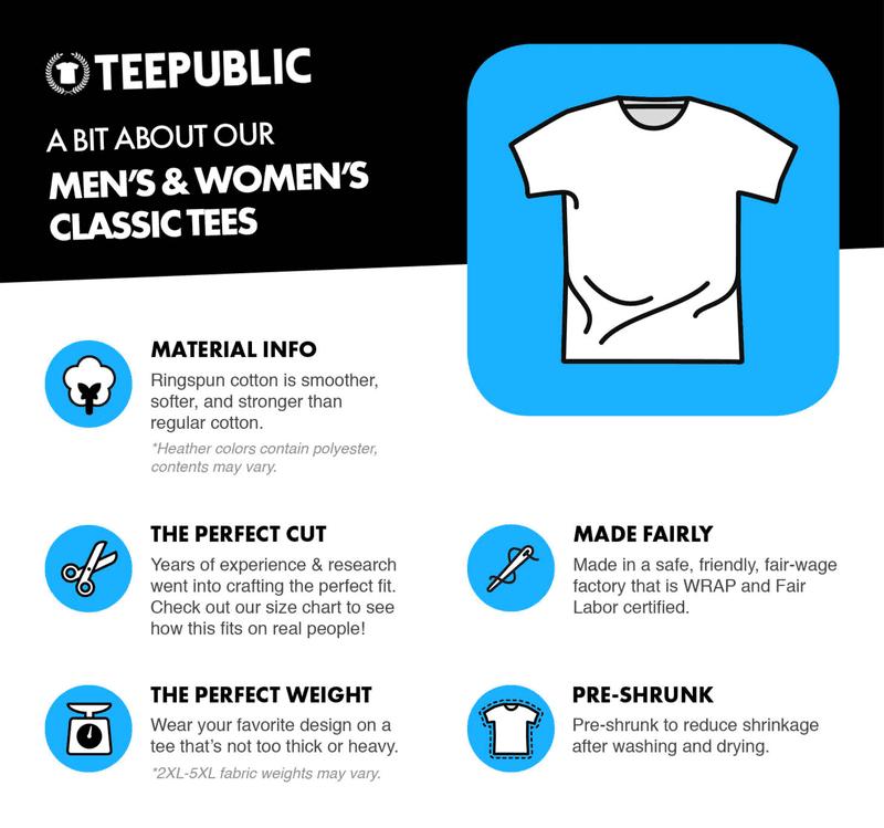 t-shirt product description by Teepublic