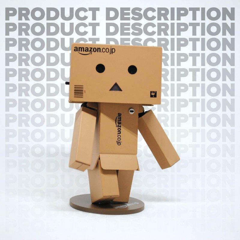 amazon box product description text