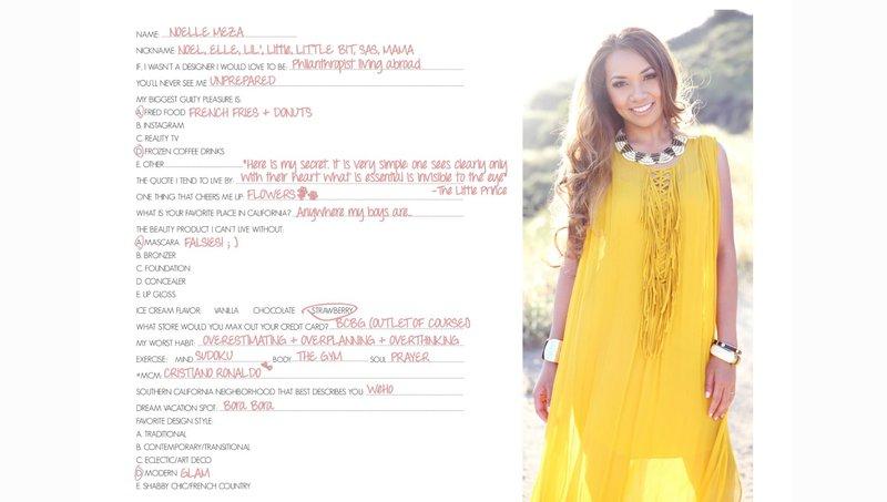 woman yellow dress about us page