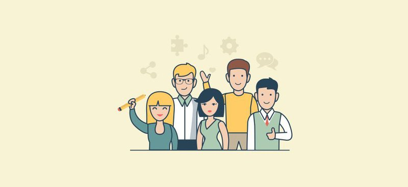 ALT = '' introduce team members in about us of online shopping website ''